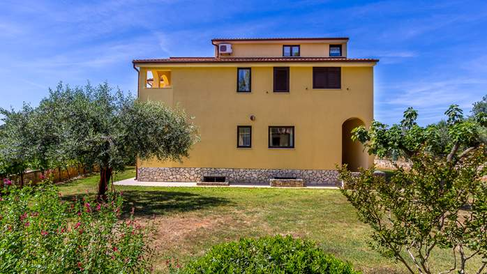 The house on a large property in Pomer offers good accommodation, 16