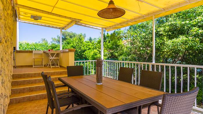 Charming holiday home in Premantura, 3 bedrooms, garden, Wi-Fi, 15