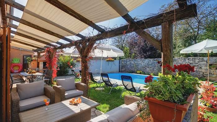 Villa on 2 floors, with pool and terrace in central Istria, 8