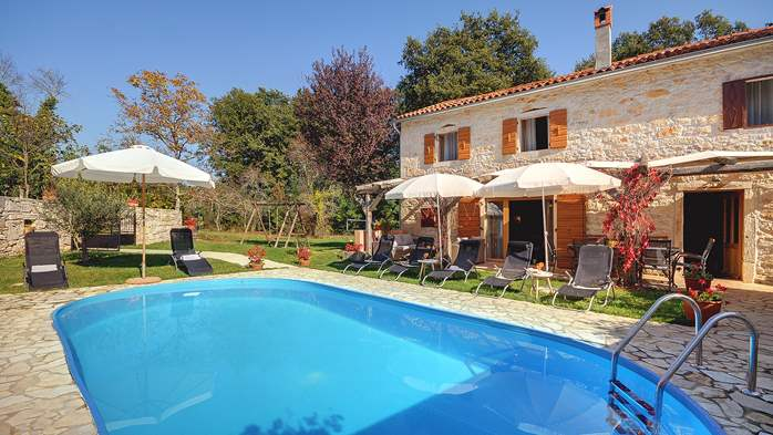 Villa on 2 floors, with pool and terrace in central Istria, 5