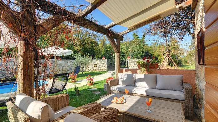 Villa on 2 floors, with pool and terrace in central Istria, 9