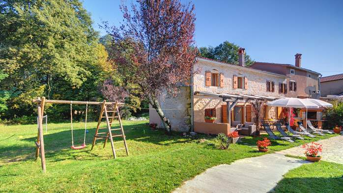 Villa on 2 floors, with pool and terrace in central Istria, 14