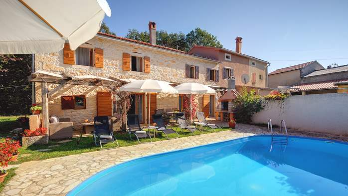 Villa on 2 floors, with pool and terrace in central Istria, 15