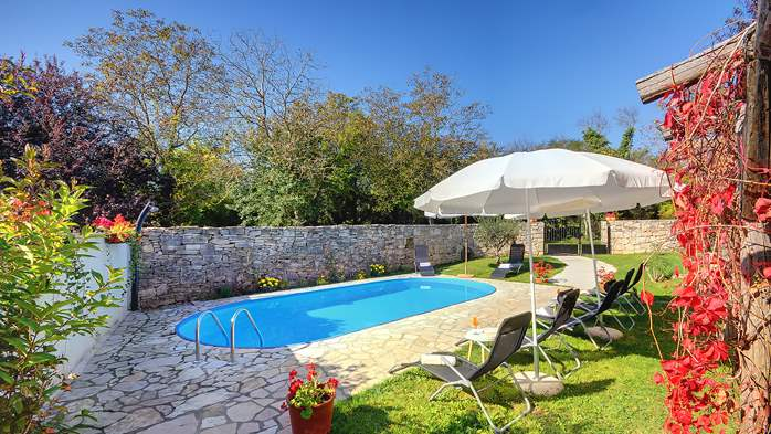 Villa on 2 floors, with pool and terrace in central Istria, 3