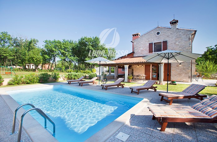 Villa Fendi. Book this villa with privateoutdoor pool and fenced garden