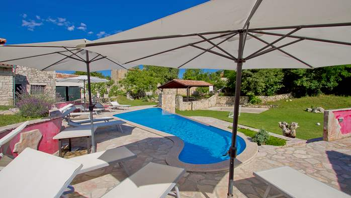 Villa with pool, terrace and playground for kids, close to Labin, 8