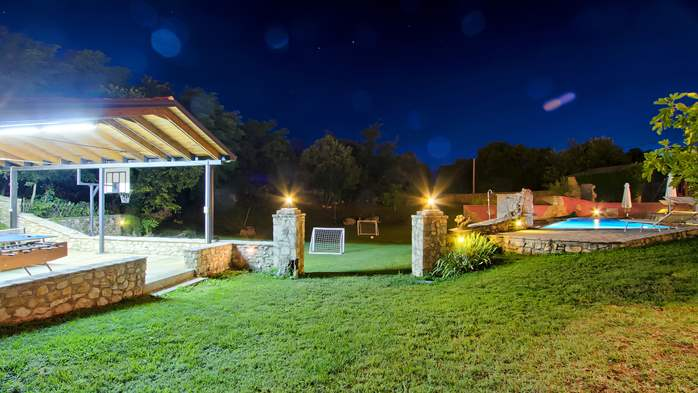 Villa with pool, terrace and playground for kids, close to Labin, 2