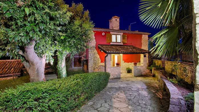 Villa with pool, terrace and playground for kids, close to Labin, 17