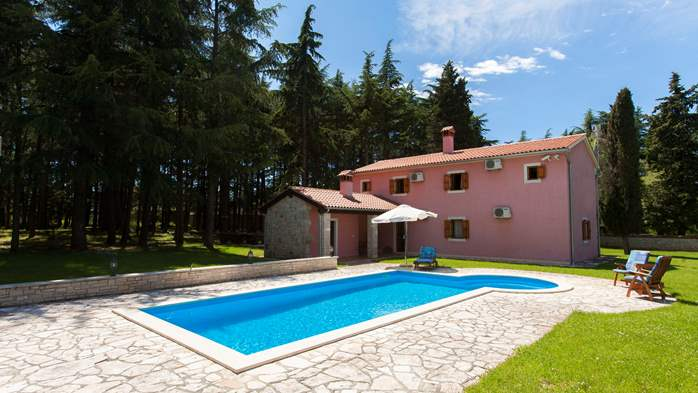 Villa with private pool in natural setting, 3 bedrooms, Wi-Fi, 7