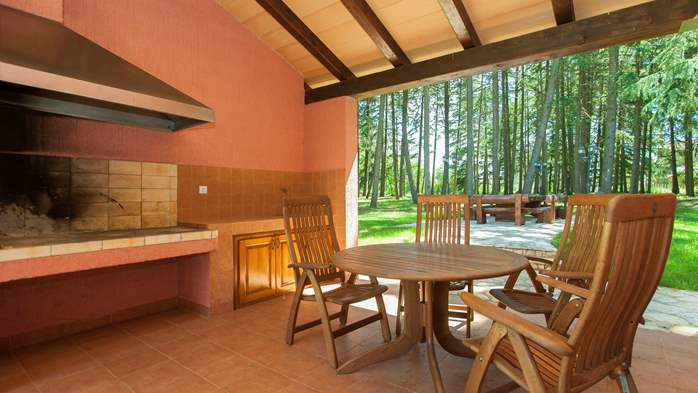 Villa with private pool in natural setting, 3 bedrooms, Wi-Fi, 16