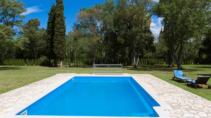 Completly fenced villa with pool, 6 bedrooms, billiards, WiFi, 5