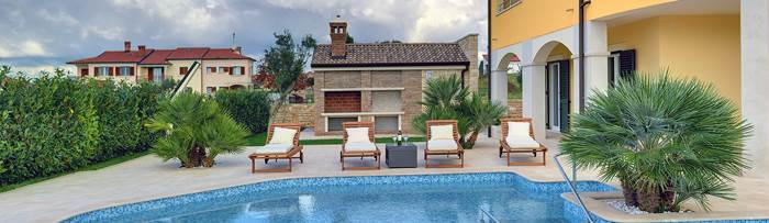 Villas with pool in Istria