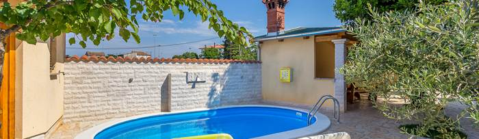 Villas with pool in Vodnjan