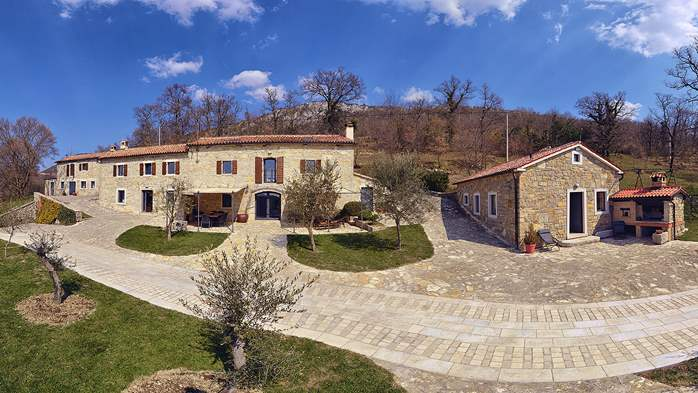 Rustic villa with pool within the borders of the Učka Nature Park, 7