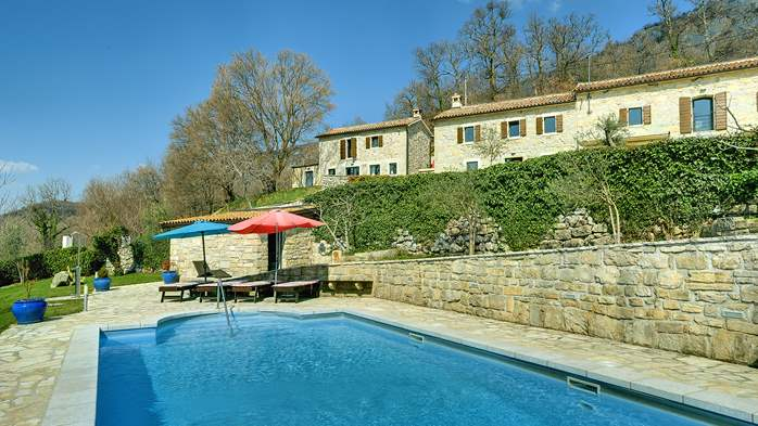 Rustic villa with pool within the borders of the Učka Nature Park, 1