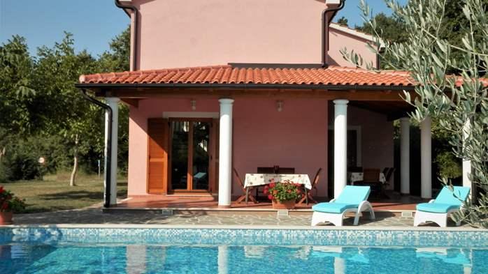 Villa with private pool, sauna, sun terrace, in central Istria, 3