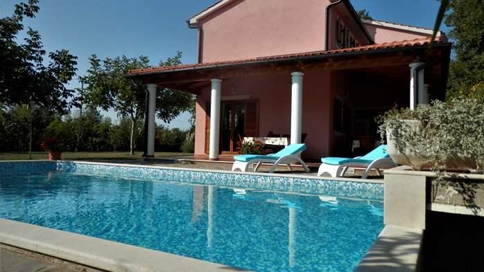 Villa with private pool, sauna, sun terrace, in central Istria, 2