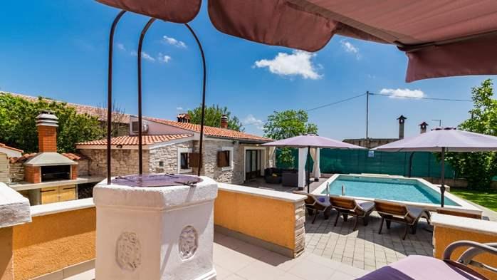 Eco friendly villa with private pool in Žminj, playground, 6