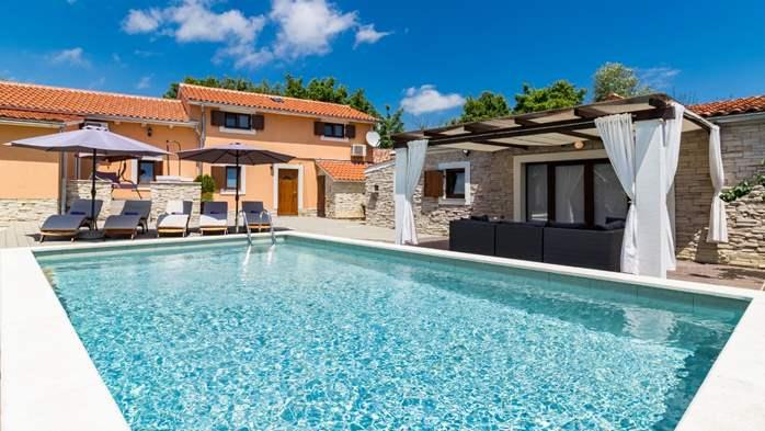 Eco friendly villa with private pool in Žminj, playground, 4