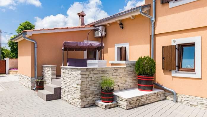 Eco friendly villa with private pool in Žminj, playground, 7