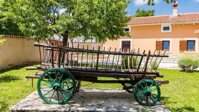 Eco friendly villa with private pool in Žminj, playground, 15