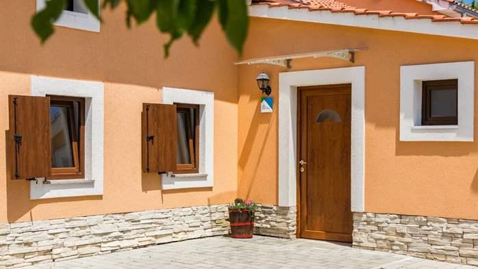 Eco friendly villa with private pool in Žminj, playground, 17