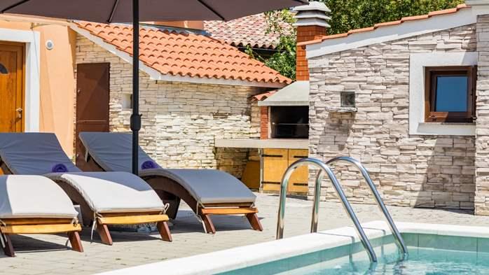 Eco friendly villa with private pool in Žminj, playground, 9