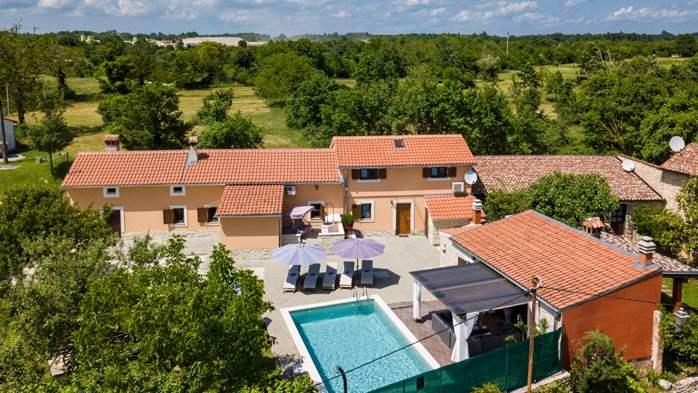 Eco friendly villa with private pool in Žminj, playground, 20
