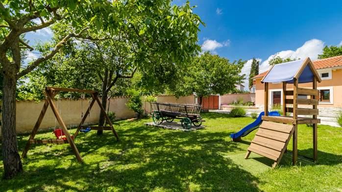 Eco friendly villa with private pool in Žminj, playground, 10
