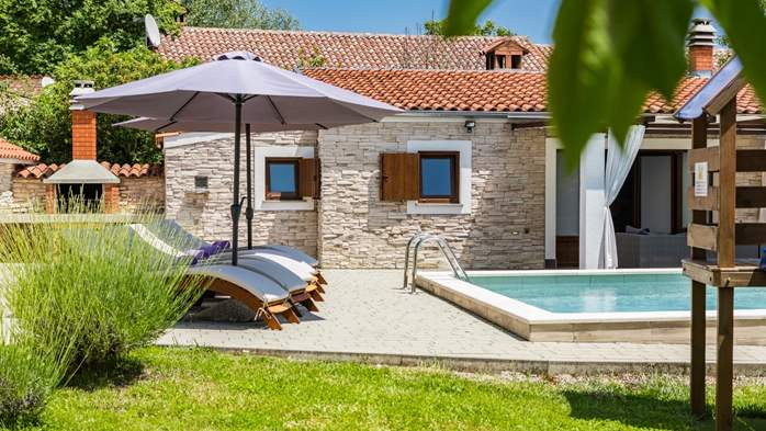 Eco friendly villa with private pool in Žminj, playground, 3