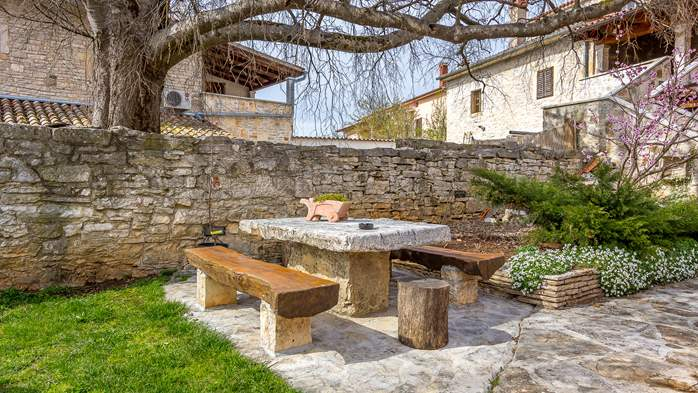 Traditional Istrian stone house with accomodation in rooms, 8