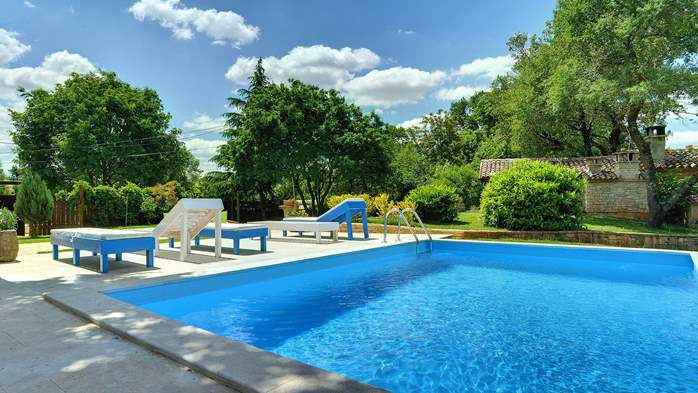 Luxuriously equipped villa with private pool near Žminj, 1