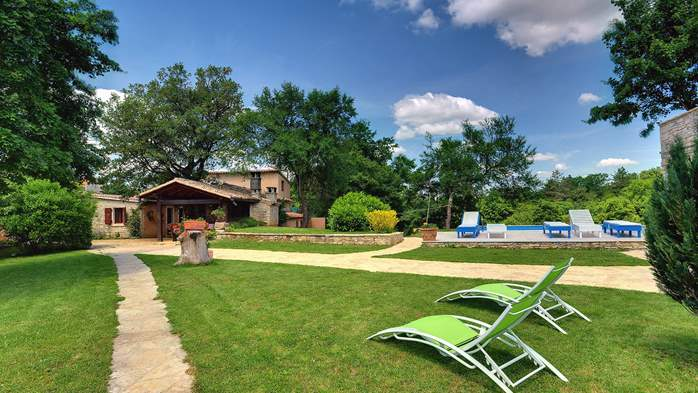 Luxuriously equipped villa with private pool near Žminj, 3