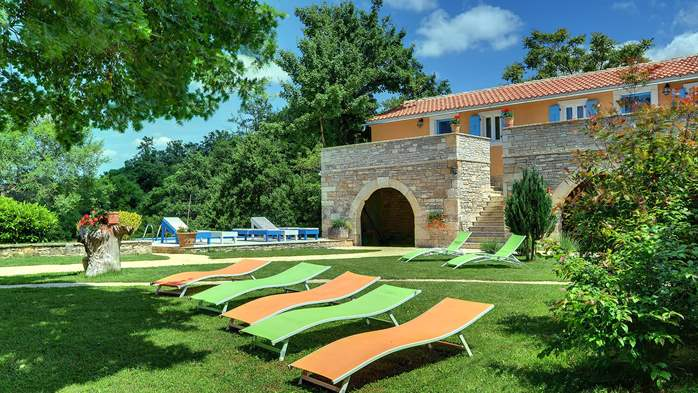 Luxuriously equipped villa with private pool near Žminj, 6