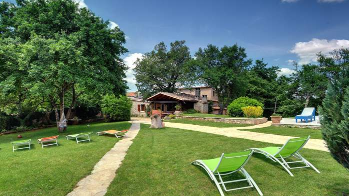 Luxuriously equipped villa with private pool near Žminj, 11