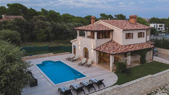 Charming stone villa in Medulin with private pool and sun terrace, 6