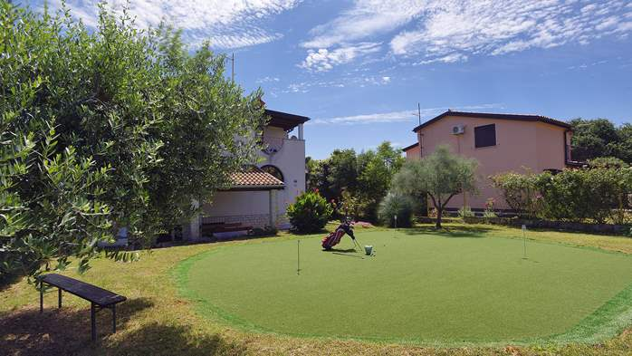 Villa in Ližnjan for golf lovers, with private pool, 4