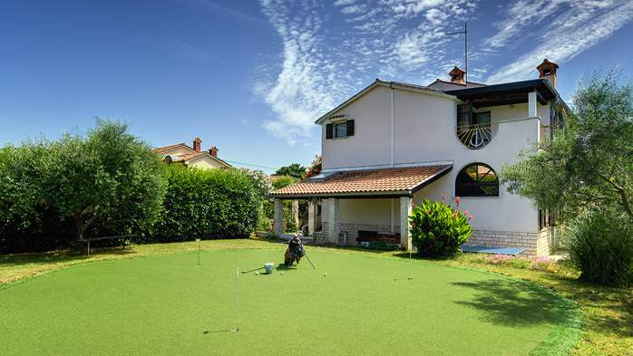 Villa in Ližnjan for golf lovers, with private pool, 5