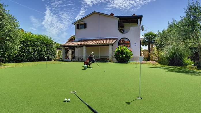 Villa in Ližnjan for golf lovers, with private pool, 6
