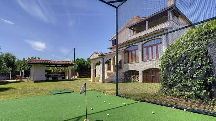 Villa in Ližnjan for golf lovers, with private pool, 8
