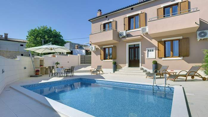 Modern villa with pool in Ližnjan, Wi-Fi, pets allowed, 6
