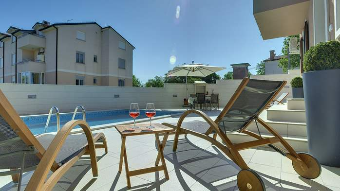Modern villa with pool in Ližnjan, Wi-Fi, pets allowed, 2