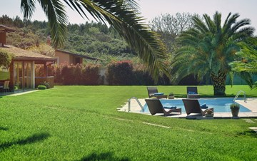Villa in Pomer, private pool with whirlpool, big lawn, volleyball