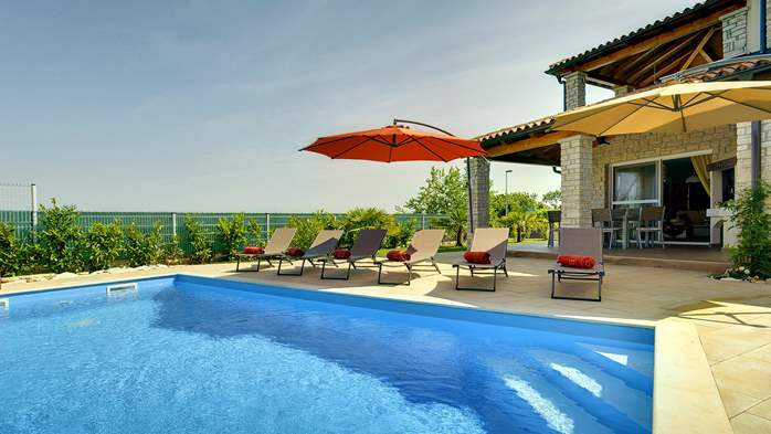 Villa with private pool, close to Novigrad, for a perfect holiday, 7