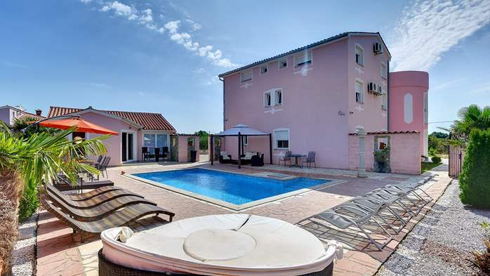 Unique 12 bedroom property with pool ideal for multiple families, 1