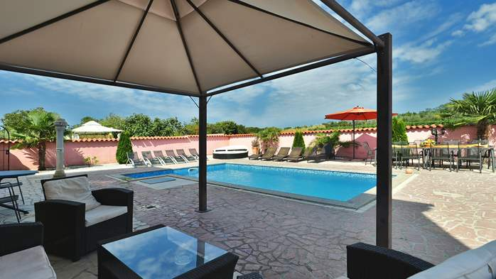Unique 12 bedroom property with pool ideal for multiple families, 7