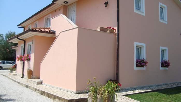 Nice house in Peroj offers accommodation in cozy apartments, 25