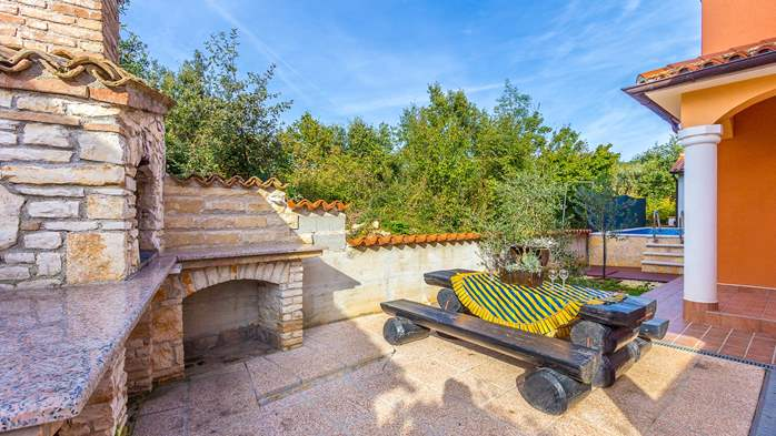 Comfortable accommodation for 12 people, house with pool, Ližnjan, 7