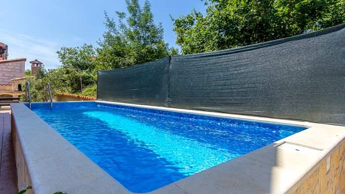 Comfortable accommodation for 12 people, house with pool, Ližnjan, 4