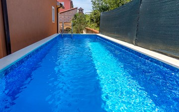 Comfortable accommodation for 12 people, house with pool, Ližnjan